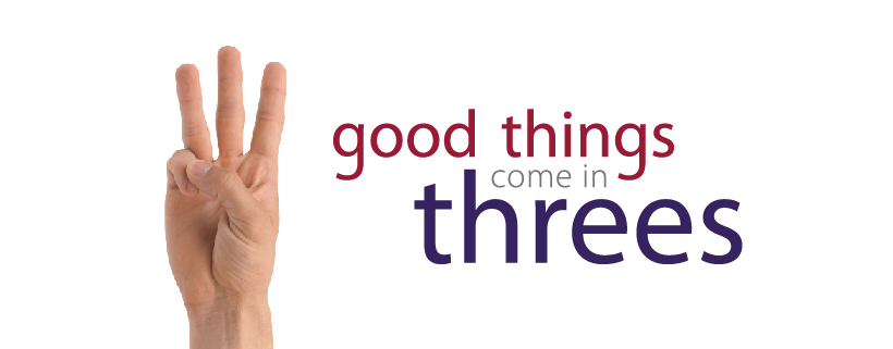 Good Things Threes